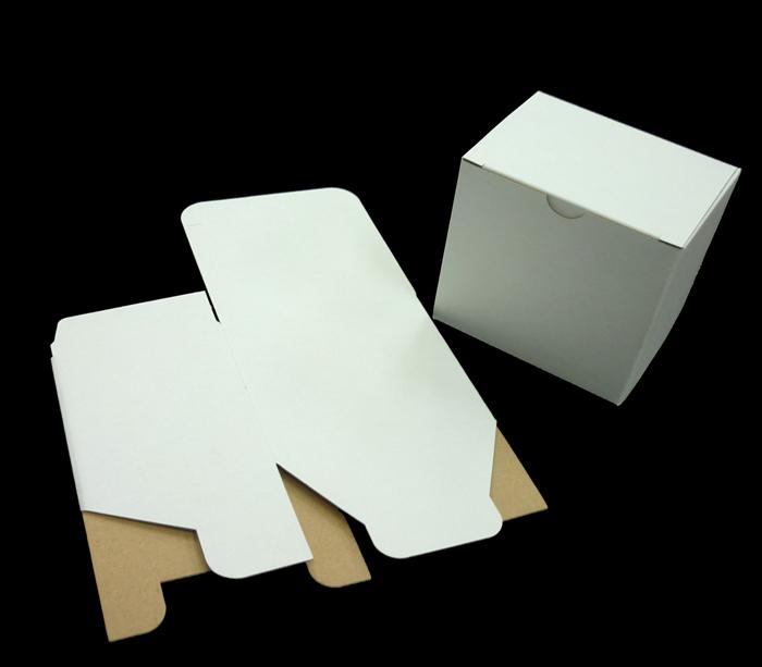 白組立式ダンボール箱