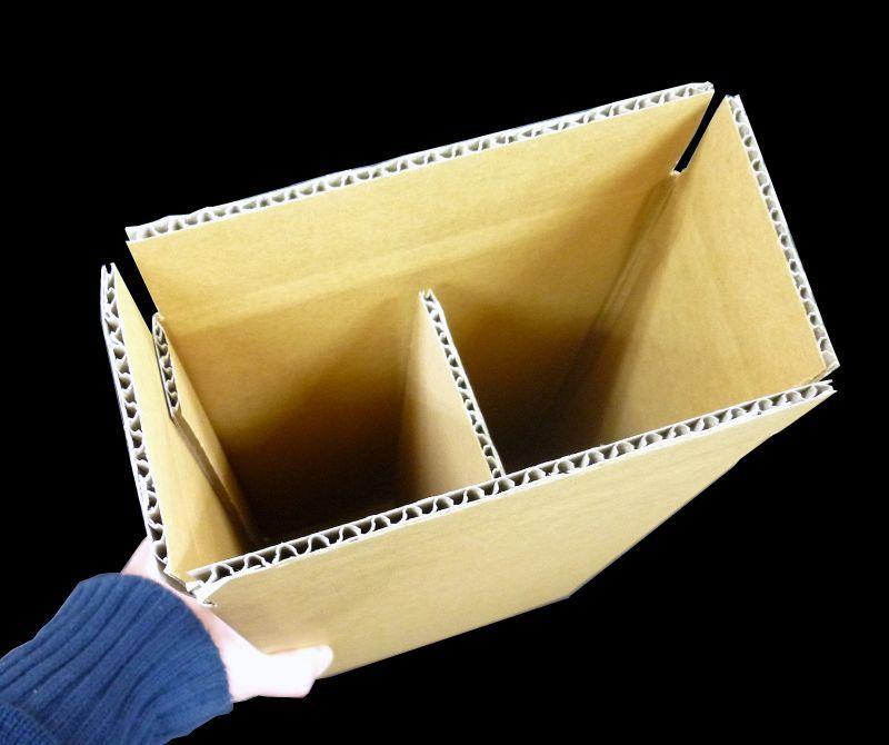 ワイン2本用ダンボール箱