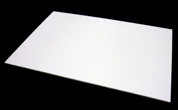 白ダンボール板