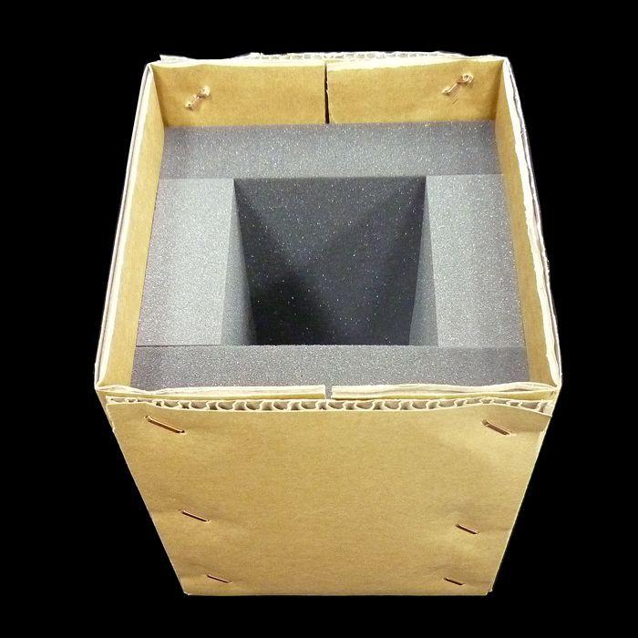 ダンボール箱 かぶせ式 (ウレタンセット)