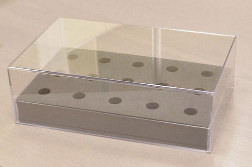 サンプル用梱包資材(PET樹脂ケース+ウレタン)[2]