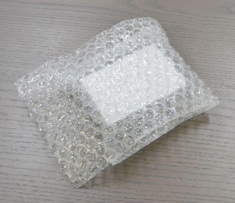 フタ付気泡緩衝材袋