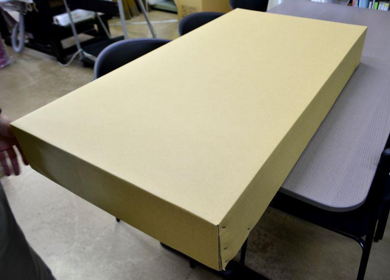 かぶせ式ダンボール箱