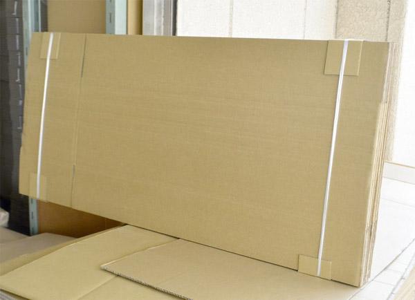 折れ線入りギター用ダンボール箱