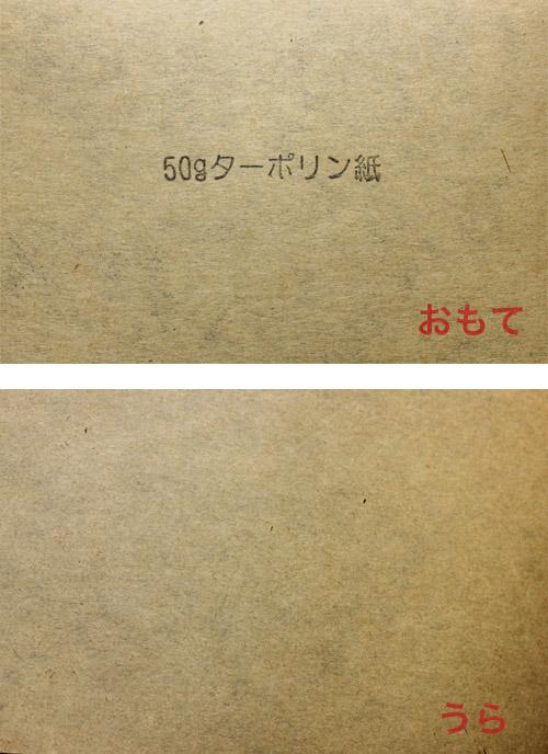 50gターポリン紙