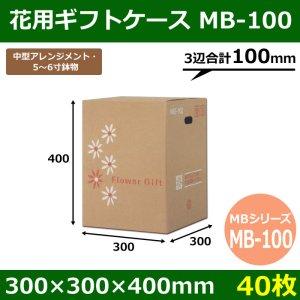 画像1: 送料無料・花用ギフトケースMB-100  300×300×400mm/500 「40枚」