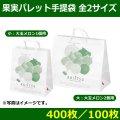 送料無料・フルーツ用手提袋   果実パレット手提袋  全2サイズ 「400枚/100枚」