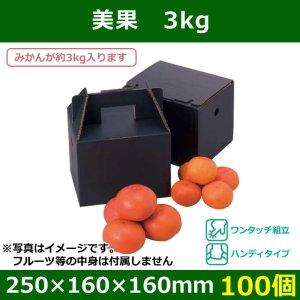画像1: 送料無料・みかん用ギフトボックス  美果 3kg   250×160×160(230)mm「100個」