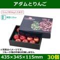 送料無料・りんご用ギフトボックス  アダムとりんご   435×345×115mm「30個」