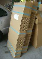他の写真1: 送料無料・ギター保管発送用ダンボール箱「小」444×144×高1090mm「90枚」