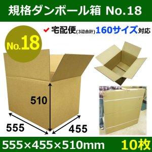 画像1: 【宅160】規格ダンボール箱No.18「10枚」555×455×510mm