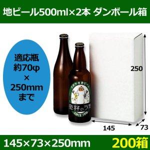 画像1: 送料無料・地ビール500ml×2本入 「200箱」5号段 適応瓶:約70φ×250Hまで