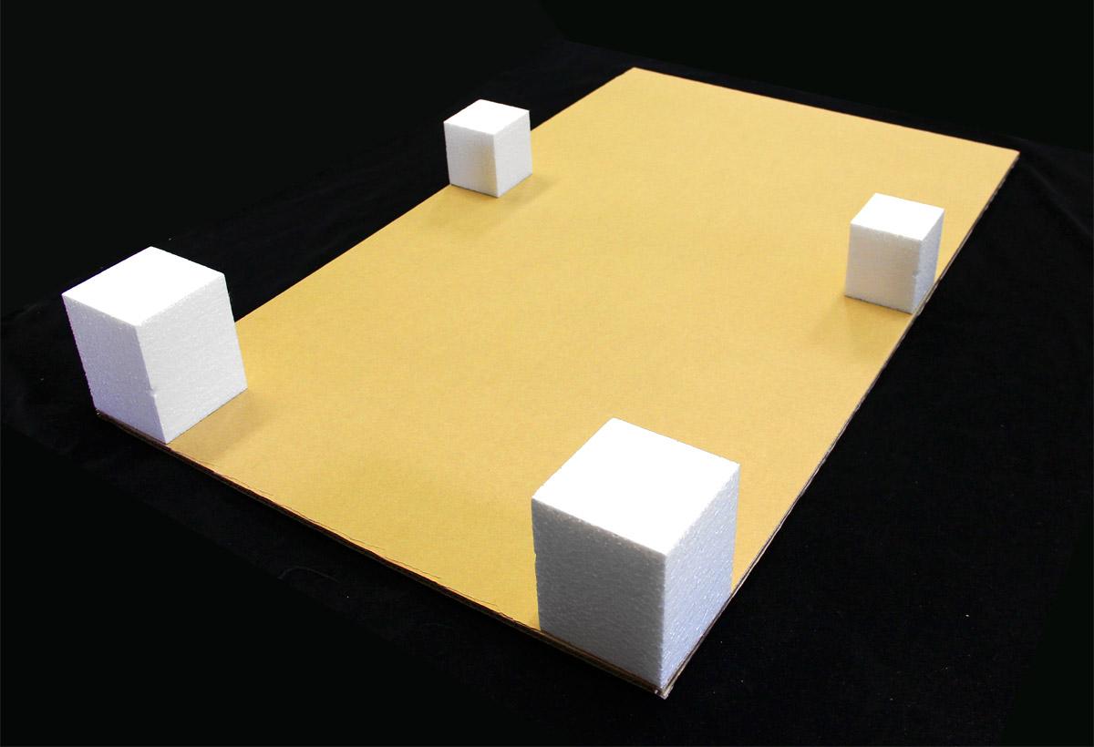 パチスロ筐体用(ダンボール+発泡スチロール)