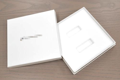 4色印刷入・印籠式貼箱+スリーブ+ウレタン ソフトウェア用