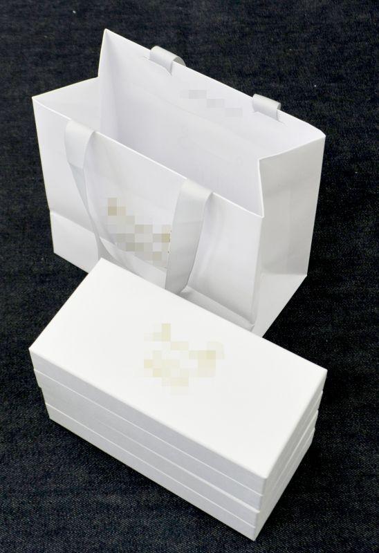 チーズケーキ用手提紙袋