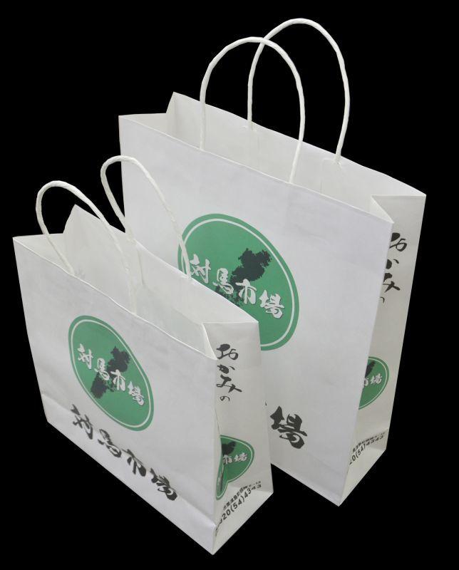 オリジナル印刷入手提紙袋