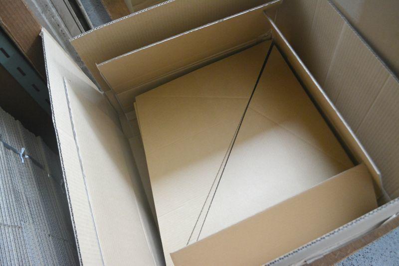 アート作品梱包用ダンボール