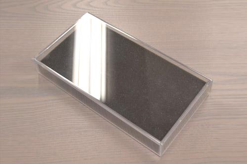 サンプル用梱包資材(PET樹脂ケース+ウレタン)