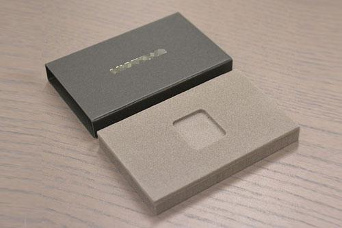 音響資材用梱包資材(ポリエチレン+紙スリーブ)