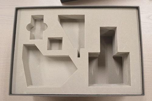 カラクリ人形用梱包資材(貼箱+ポリエチレン)