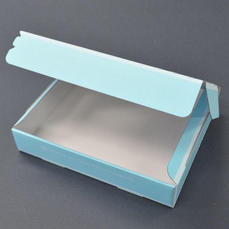 印刷入ジッパー式宅配ダンボール箱