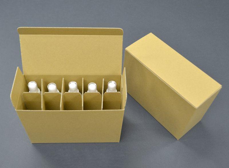 除菌スプレーボトル用段ボール