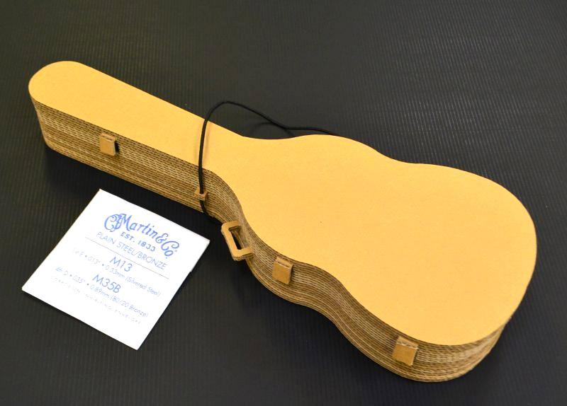 段ボール製ギターケース