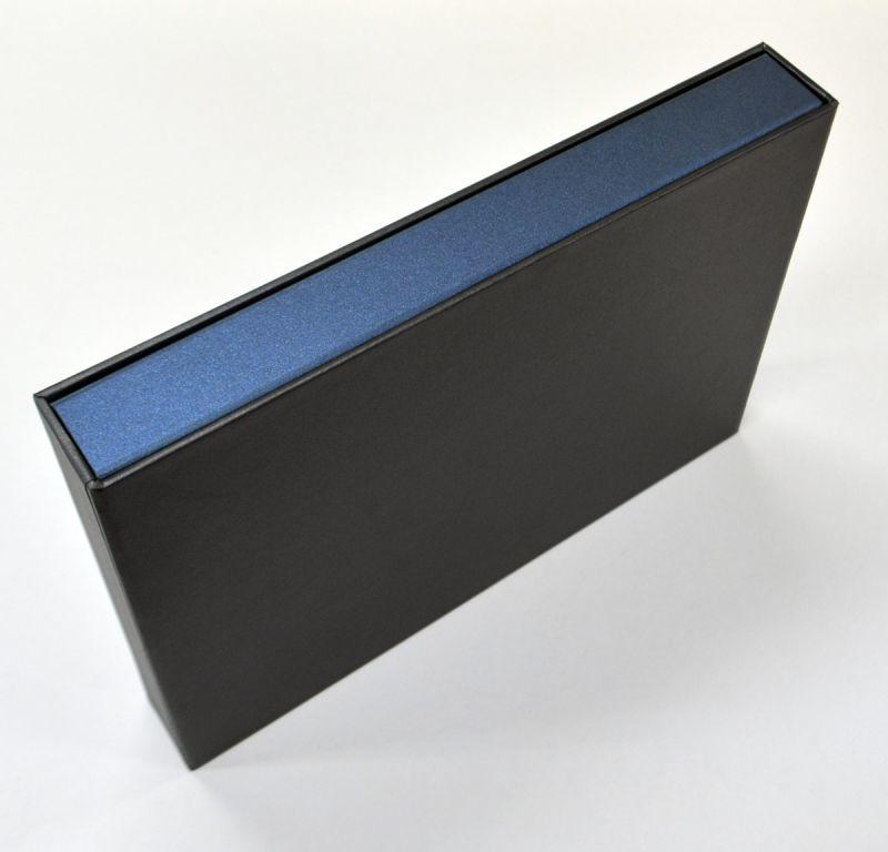 不動産証書用パッケージ(ブック式貼箱+三方背表紙)