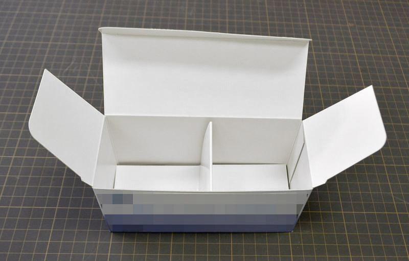 缶詰用パッケージ 組箱と仕切り