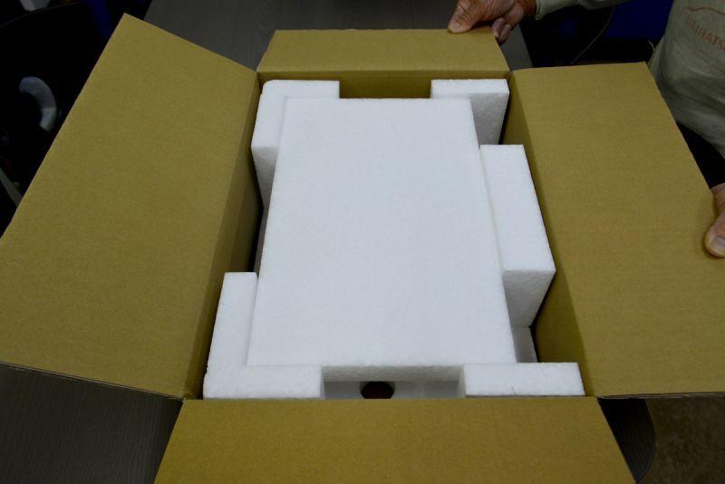 オーディオ機器用梱包資材