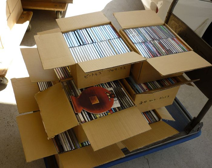cd用段ボール箱