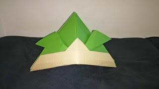 段ボール折り紙使用例